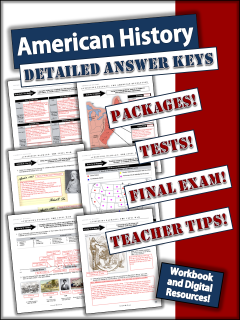 Home School USA History: Workbook and Digital Resources - A